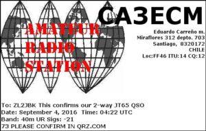 DXCC 112 - Chile