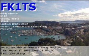 DXCC 162 - New Caledonia