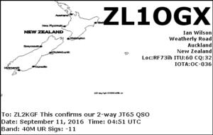 DXCC 170 - New Zealand