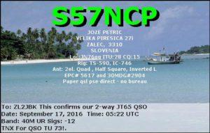 DXCC 499 - Slovenia
