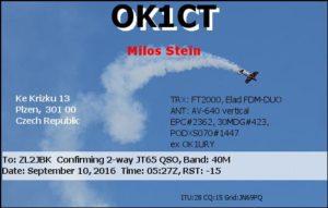 DXCC 503 - Czech Republic