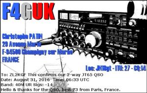 DXCC 227 - France