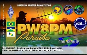 DXCC 108 - Brazil